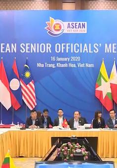 Hai hội nghị quan trọng tại đợt hội nghị đầu tiên của Năm ASEAN 2020