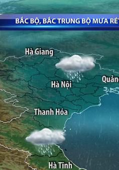 Không khí lạnh tăng cường gây mưa rét ở Bắc Bộ