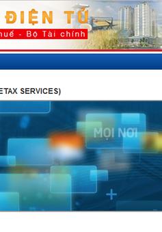Từ 10/2, Cục Thuế TP.HCM triển khai hệ thống dịch vụ thuế điện tử