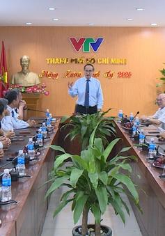 Lãnh đạo TP.HCM thăm và chúc Tết Trung tâm Truyền hình Việt Nam tại TP.HCM