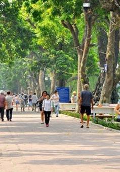 Thử nghiệm phủ sóng 5G tại khu vực phố đi bộ hồ Hoàn Kiếm