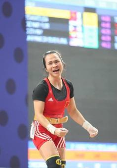 Vương Thị Huyền giành Huy chương Đồng cúp Cử tạ thế giới 2020