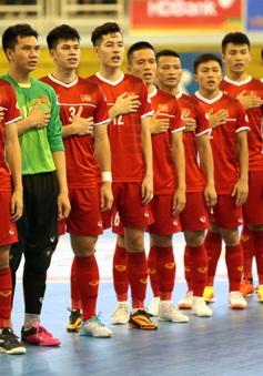ĐT futsal Việt Nam – ĐT futsal Lebanon: Vượt ải khó, quyết tâm giành vé dự World Cup