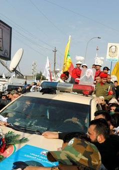 Iran đưa linh cữu tướng Soleimani về nước