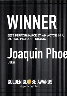 Quả cầu vàng 2020: Không ngoài dự đoán, Joaquin Phoenix thắng giải Nam diễn viên chính