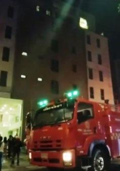 Cháy tòa nhà ở khu nghỉ dưỡng tại Thái Lan