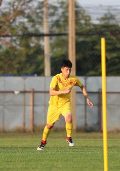 VCK U23 châu Á 2020: U23 Việt Nam tập luyện, sẵn sàng cho trận gặp U23 UAE