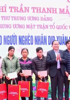 Chủ tịch Ủy ban Trung ương MTTQ Việt Nam tặng quà Tết tại Lạng Sơn
