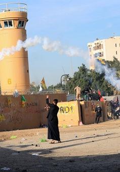 Vùng Xanh tại Iraq bị tên lửa tấn công