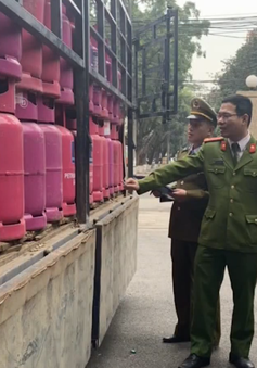 Phát hiện cơ sở sang chiết gas trái phép số lượng lớn ở Bắc Giang