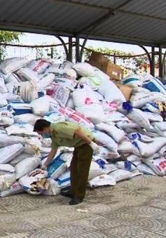 Phát hiện hơn 13 triệu găng tay cao su nhập khẩu đã qua sử dụng
