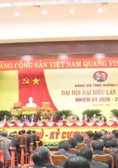 Bế mạc Đại hội Đảng bộ tỉnh Quảng Nam lần thứ 22