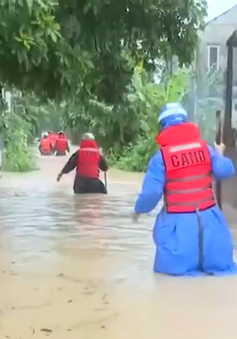 Tỉnh Quảng Trị tiếp tục ứng phó với lũ lụt