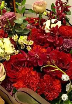 Thị trường hoa tươi ngày 20/10 trầm lắng
