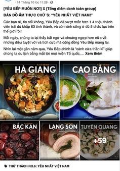 Lan tỏa niềm tự hào về ẩm thực vùng miền với tình yêu bếp