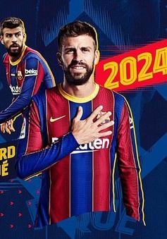 Gerard Pique đồng ý giảm lương để lại Barcelona