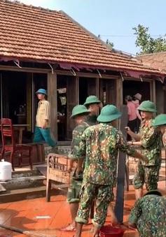 Nhà lưu niệm Đại tướng Võ Nguyên Giáp bị lũ lụt làm hư hại