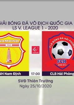 VIDEO Highlights: DNH Nam Định 2-3 CLB Hải Phòng (Vòng 4 giai đoạn 2 V.League 2020, nhóm B)
