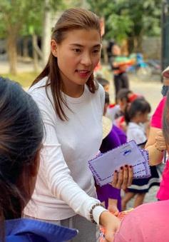 Thúy Diễm kêu gọi ủng hộ đợt 2 giúp bà con miền Trung gây dựng lại cuộc sống