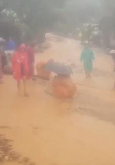 Bão số 9 gây thiệt hại nặng các huyện miền núi Quảng Nam
