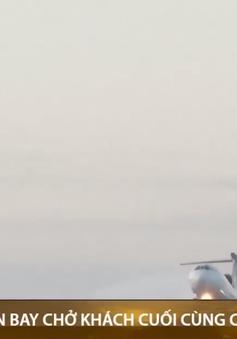 Chuyến bay chở khách cuối cùng của dòng Tu-154 huyền thoại
