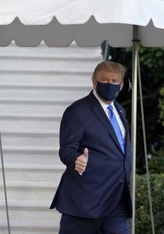 Dương tính với COVID-19, Tổng thống Donald Trump được đưa tới trung tâm y tế quân sự