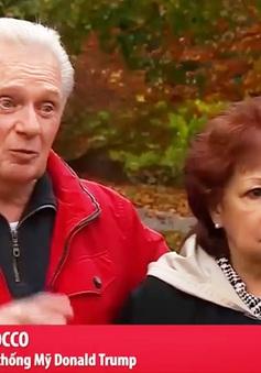 Cặp vợ chồng Mỹ cùng nhà nhưng không cùng quan điểm bầu tổng thống