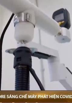 Singapore sáng chế máy phát hiện COVID-19 trong hơi thở