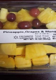 Mỹ thu hồi trái cây đóng gói do nghi nhiễm khuẩn Listeria