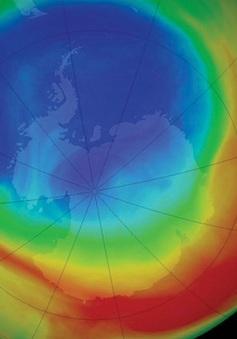 Phát hiện lỗ thủng tầng ozone lớn nhất ở Nam Cực
