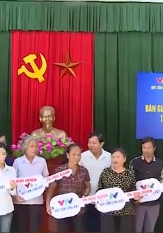 Đài Truyền hình Việt Nam trao nhà tình nghĩa cho hộ nghèo