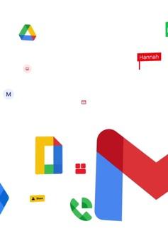 """Gmail bỗng """"đẹp lạ"""" với bộ nhận diện mới của Google"""