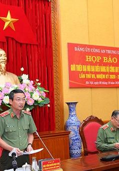 Đại hội đại biểu Đảng bộ Công an Trung ương được tổ chức từ ngày 11-13/10