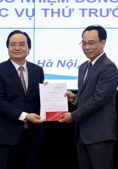 Công bố quyết định bổ nhiệm Thứ trưởng Bộ Giáo dục và Đào tạo Hoàng Minh Sơn