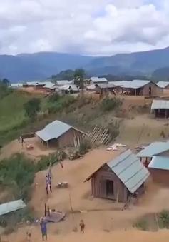 Quảng Nam sơ tán dân khỏi vùng sạt lở