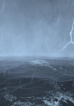Bão Vamco tiến nhanh vào Biển Đông, gây mưa dông, sóng lớn trên biển