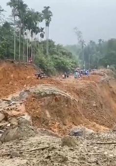 Xây dựng khu tái định cư cho người dân vùng sạt lở Trà Leng