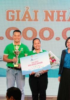 Trao giải cuộc thi Dự án Khởi nghiệp sáng tạo Thanh niên nông thôn 2020