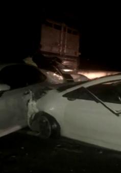 Tai nạn liên hoàn, cao tốc Trung Lương kẹt xe hơn 10km