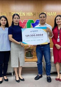 Quỹ Tấm lòng Việt tiếp nhận gần 130 triệu đồng ủng hộ miền Trung