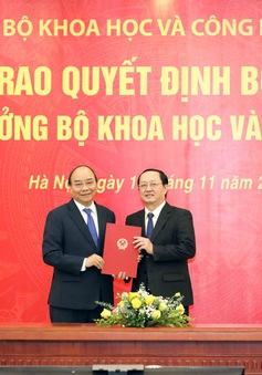 Ông Huỳnh Thành Đạt nhận quyết định bổ nhiệm Bộ trưởng Bộ Khoa học và Công nghệ
