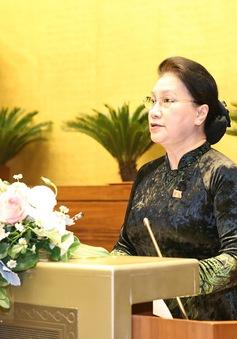 Chủ tịch Quốc hội: Kỳ họp thứ 10 khẳng định rõ tinh thần đoàn kết, quyết tâm vượt qua khó khăn