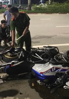 Mô tô phân khối lớn đâm xe máy, 2 người chết, 1 người nguy kịch