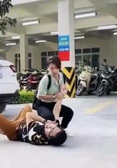 """Việt Anh bị bạn diễn nữ """"hạ đo ván"""" trong phim mới"""