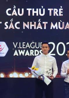 Bùi Hoàng Việt Anh giành giải Cầu thủ trẻ xuất sắc nhất mùa giải 2020