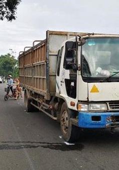 Xe tải tông xe máy, 2 nữ sinh tử vong trên đường đến trường