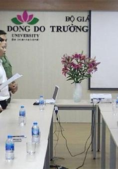 Bộ GD&ĐT kiên quyết xử lý nghiêm vụ cấp bằng giả ở Đại học Đông Đô