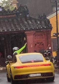 Truy tìm ô tô đi vào đường cấm tại Hội An