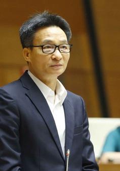 Phó Thủ tướng Vũ Đức Đam trả lời chất vấn vụ Hiệu trưởng ĐH Tôn Đức Thắng bị cách chức