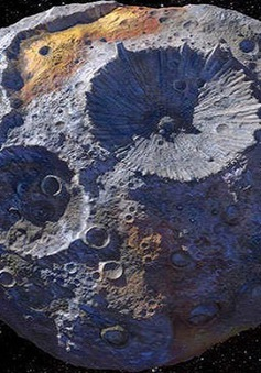 16 Psyche - tiểu hành tinh gây tò mò và có giá nhất từ trước đến nay